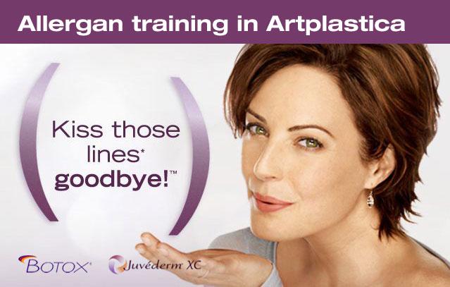 Allergan training in Artplastica