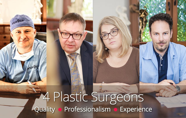 4 Plastic Surgeons