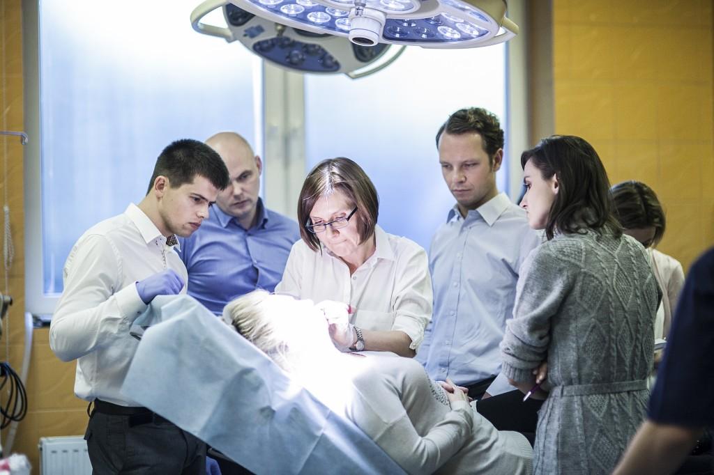 Allergan training in Artplastica (Juvederm). Aesthetic medicine.