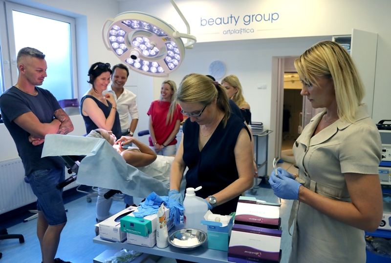 Allergan training at the Beauty Group Clinic